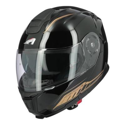 Casque modulable Astone RT1200 EVO Dark Side noir/or brillant