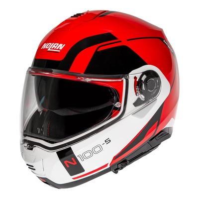 Casque modulable Nolan N100-5 Consistency N-Com Corsa rouge