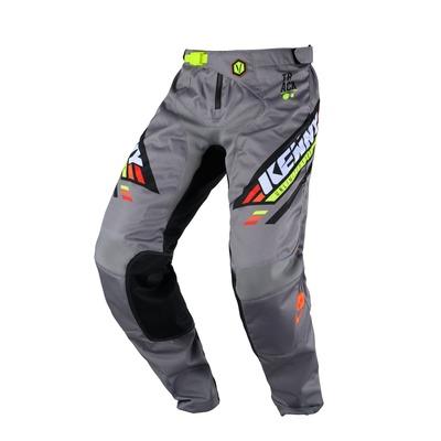 Pantalon cross enfant Kenny Track Kid noir/gris/orange