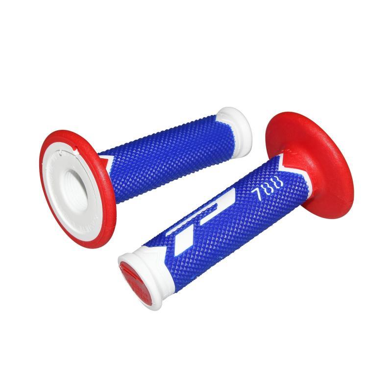 Revêtements de poignée Progrip 788 blanc/bleu/rouge
