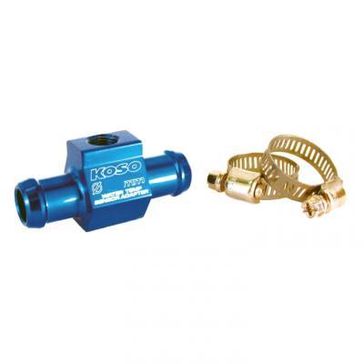 Adaptateur de température d'eau Koso pour durite Ø 14 mm