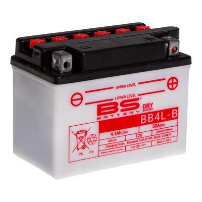 Batterie BS Battery BB4L-B 12V 4,2Ah conventionnelle avec pack acide