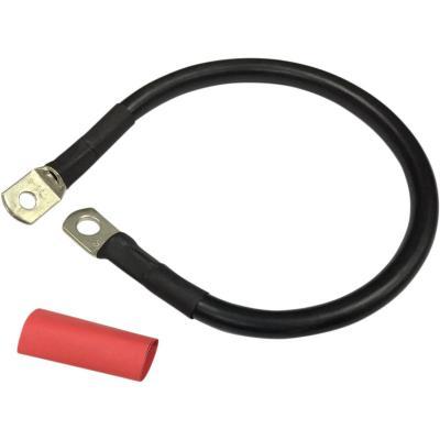 Câble de batterie Drag Specialties 380 mm noir