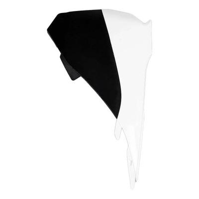 Cache boite à air gauche UFO KTM 85 SX 13-17 blanc/noir (couleur origine 2017)
