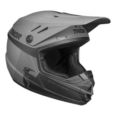 Casque cross enfant Thor Sector Racer noir/charcoal mat
