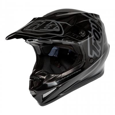 Casque cross Troy Lee Designs GP Silhouette noir/gris