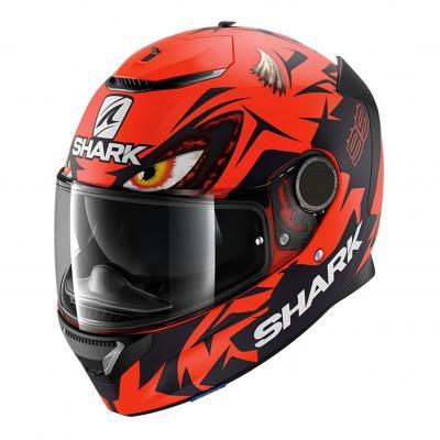 Casque intégral Shark Spartan 1.2 Réplica Lorenzo Austrian GP rouge/noir/rouge
