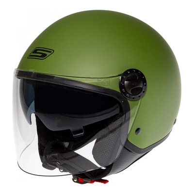Casque jet S-Line S706 R-Fully vert army