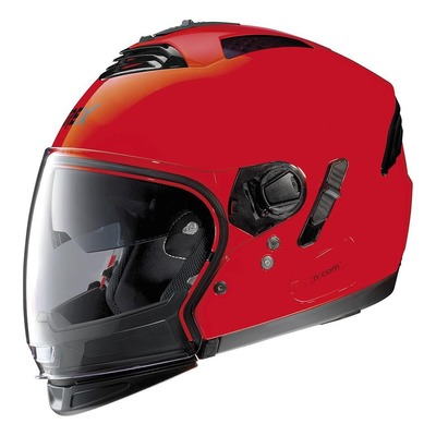 Casque transformable Grex G4.2 Pro Kinetic N-Com Corsa rouge
