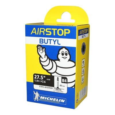 Chambre à air vélo Michelin Air Stop 27,5 x 1,9/2,6 B4 Airstop Presta 60mm