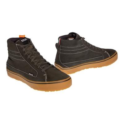 Chaussures moto TCX Street 3 WP vert/marron
