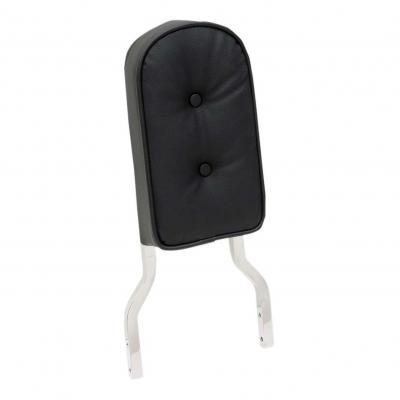 Coussin Drag Specialities de sissybar tube carré noir boutons grand modèle