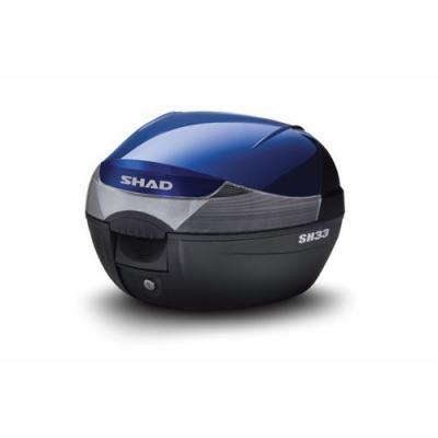 Couvercle Shad pour top case SH33 bleu