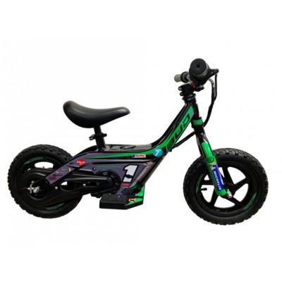 Draisienne électrique Bud Racing Mini E Push Bike 21 Team Bud vert