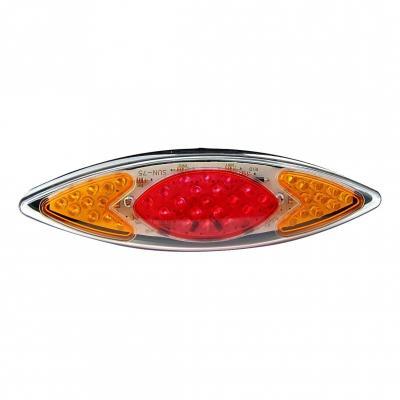 Feu arrière Eye + clignotants à leds Rouge / Orange