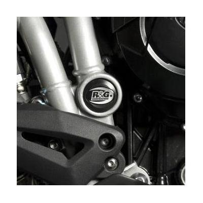 Insert de cadre gauche R&G Racing noir Triumph Tiger 800 11-17