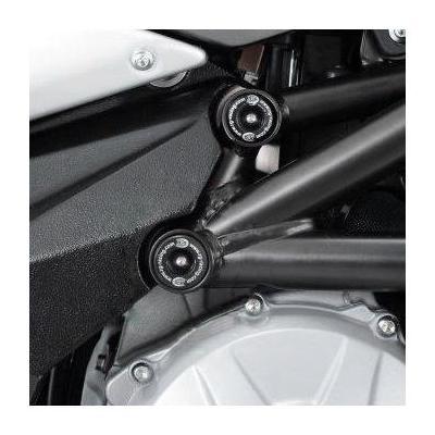 Insert de cadre treillis inférieur droit R&G Racing noir MV Agusta F3 675 12-18