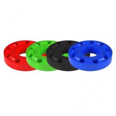 Inserts de tampons de protection Lightech caoutchouc Ø 50 mm rouge