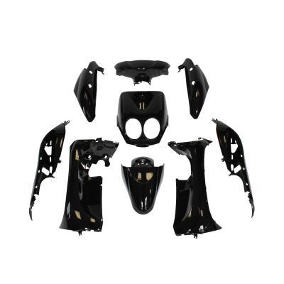 Kit carrosserie 9 pièces noir brillant adaptable Ovetto/Neos avec compteur aiguille 2008>