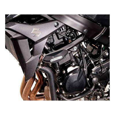 Kit de tampons de protection SW-MOTECH noir Suzuki GSR 750 11-