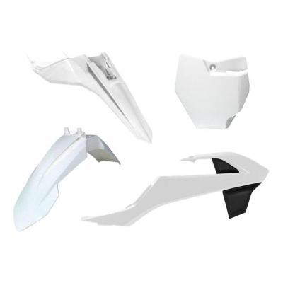 Kit plastique RTech blanc pour KTM SX 65 16-21 blanc