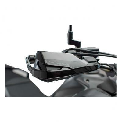 Kit protège-mains Barkbusters Kobra noir Honda CRF1000L Africatwin 15-18
