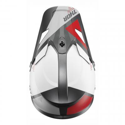 Kit visière Thor pour casque Sector Blade charcoal/blanc