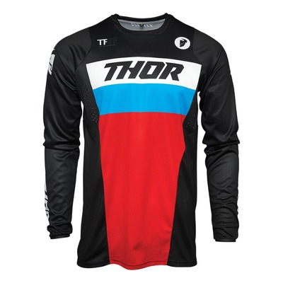 Maillot cross enfant Thor Pulse bleu/rouge/noir