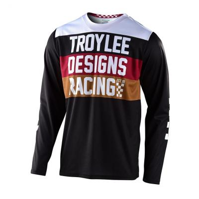 Maillot cross Troy Lee Designs GP Continental noir