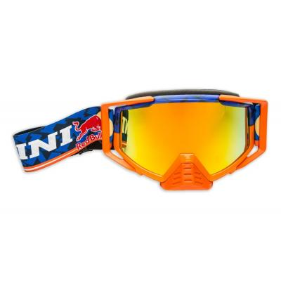 Masque cross Kini Red Bull Competition bleu marine/orange