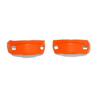 Pads caoutchouc Cycra pour plaque numéro frontale Stadium orange