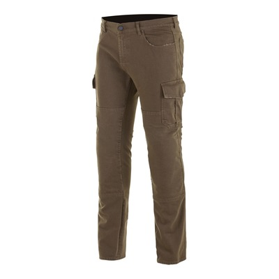 Pantalon cargo Alpinestars Cargo Riding distressed marron