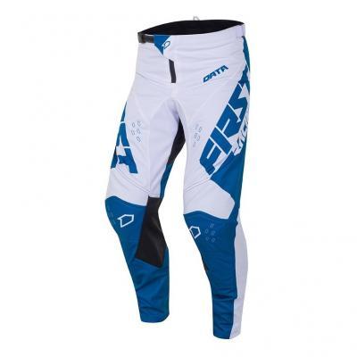 Pantalon cross First Racing Data Evo denim/blanc