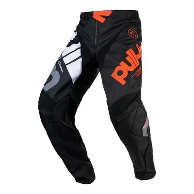 Pantalon cross Pull-in Challenger Race noir/orange