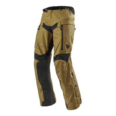 Pantalon enduro textile Rev'it Continent (court) ocre jaune