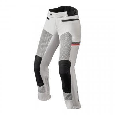 Pantalon textile femme Rev'it Tornado 3 (standard) argent