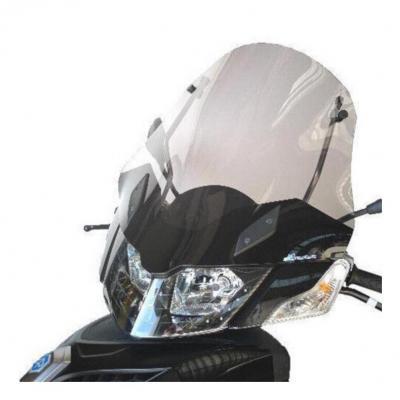 Pare-brise Bullster haute protection 52 cm incolore Piaggio MP3 300 Urban 11-14