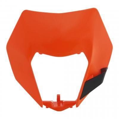 Pastique plaque phare Acerbis KTM 250 EXC 14-16 orange