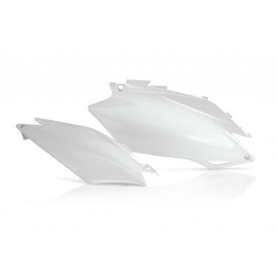 Plaques numéro latérales Acerbis Honda CRF 250R 11-13 blanc (paire)