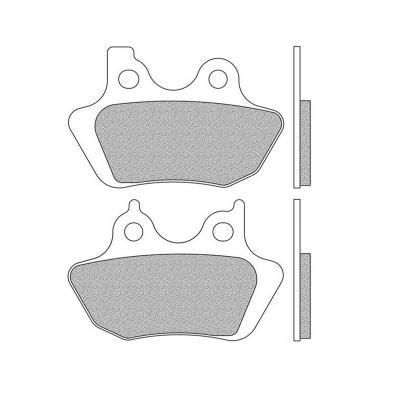 Plaquettes de frein Newfren Performance sinter .FD.0389 S2