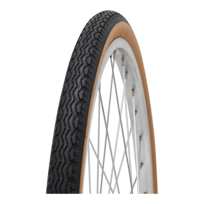 Pneu vélo City Michelin Transworld ZZ TR noir/beige (26 X 1.5/8'' X 1/2'')