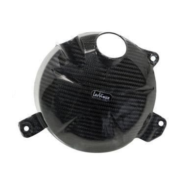 Protection de carter d'embrayage Leovince carbone ZX6 R 2009-12