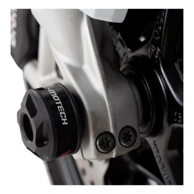 Protection de fourche avant SW-MOTECH noir BMW F800R / R1200R / R1200RS / S1000XR