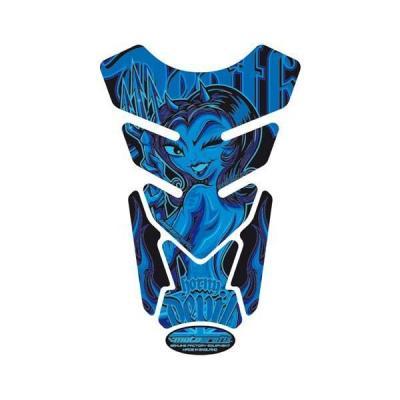 Protection de réservoir Motografix Street Style bleu 4 pièces