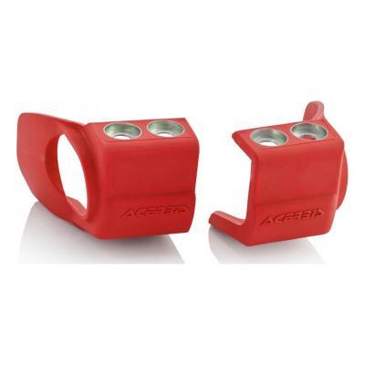 Protections pieds de fourches Acerbis Honda CRF 250R 09-18 rouge