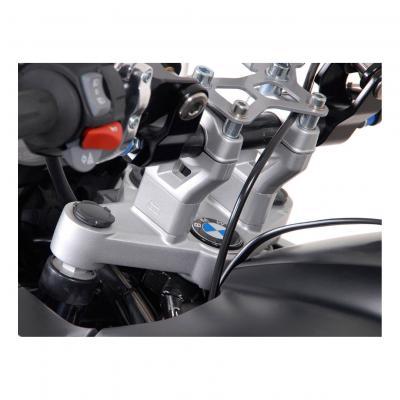 Réhausse de guidon SW-MOTECH H:30 mm gris BMW R 1200 GS 08-