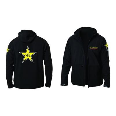 Sweat zippé à capuche Shot Rockstar Posh noir