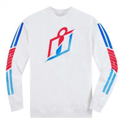 Tee-shirt manches longues Icon Crew neck RS Gardient blanc/bleu/rouge