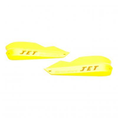 Coques de remplacement protège-mains Barkbusters Jet jaune