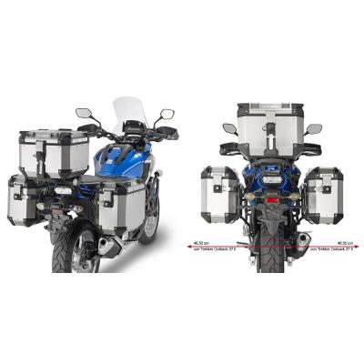 Supports pour valises latérales Givi Trekker Outback Honda NC 750 X 16-